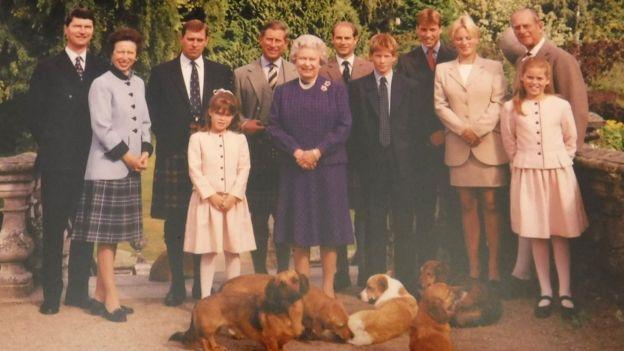 royal family christmas cards - Royal Family Christmas Card