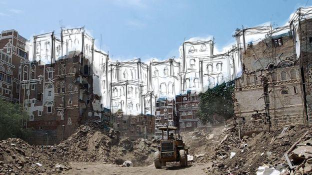 مدينة صنعاء القديمة في اليمن