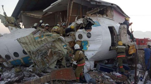 літак, казахстан, авіакатастрофа