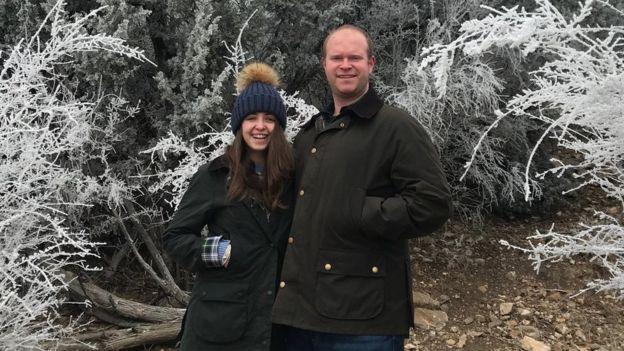 Natalie y Quincy Seale, de 29 y 32 años, tienen un negocio propio y viven en Texas.
