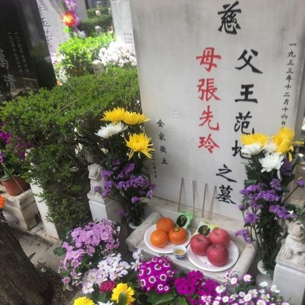 Chinese grave