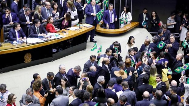 Câmara dos Deputados aprovou o texto base da reforma da previdência