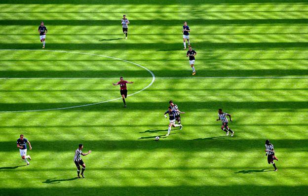 Partido de la Liga Premier
