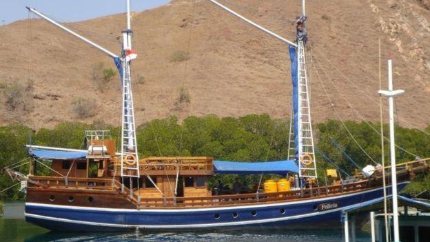 Pengoperasian kapal kayu tradisional seperti ini di sekitar Taman Nasional Komodo menjanjikan keuntungan sampai 30% .