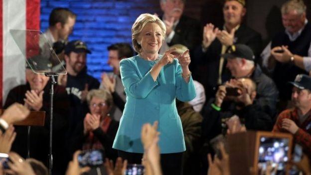 Hillary Clinton, Manchester, New Hampshire