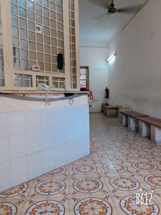 Bên trong trại giam số 1 ở Hà Nội