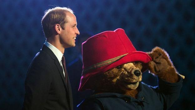 Паддингтон и принц Уильям