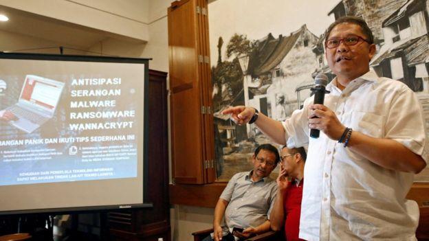 Exposición sobre el ransomware