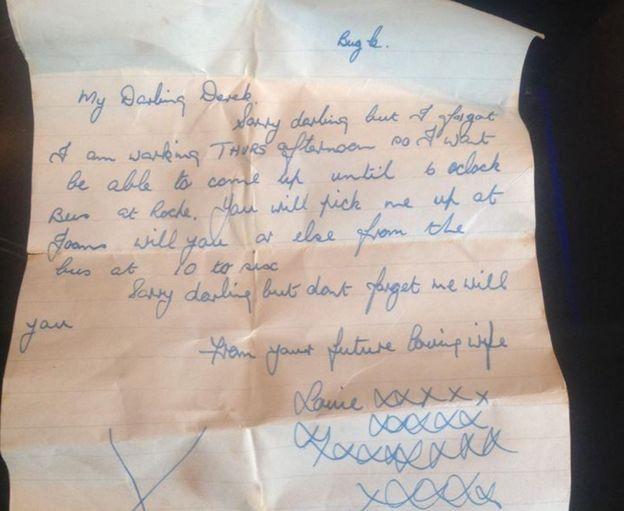 Surat Cinta Yang Ditulis Pada 1950an Itu Telah Dikembalikan