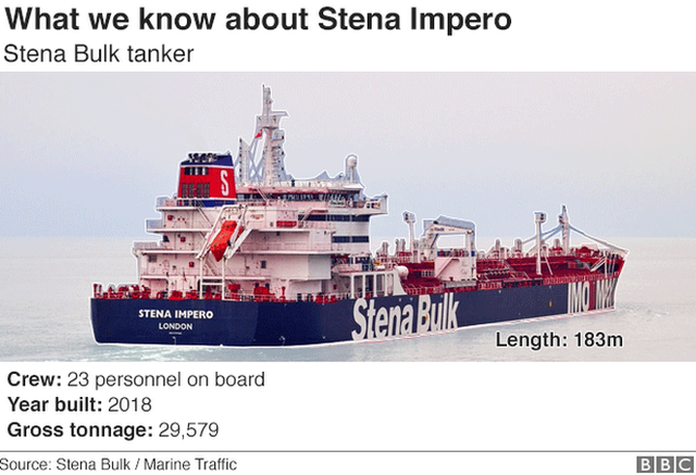 Iran tanker seizure: May chairs Cobra meeting on crisis