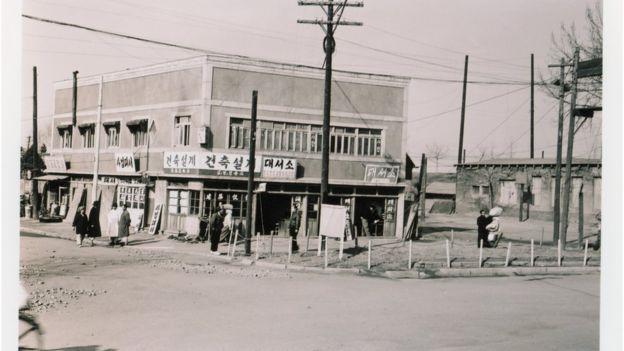 1950년대 용산 거리