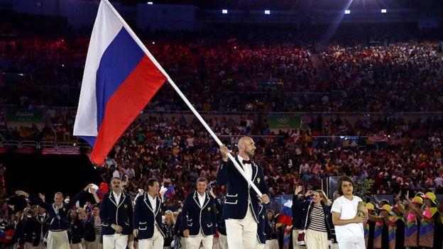 Російський спортсмен