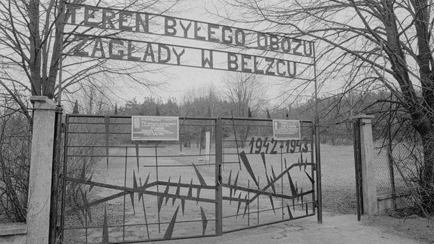 Campo de concentración de Belzec.