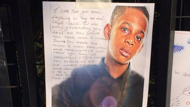 Tribute to Quamari Barnes