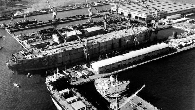 En las primeras décadas del siglo XX ya Japón era una potencia industrial.