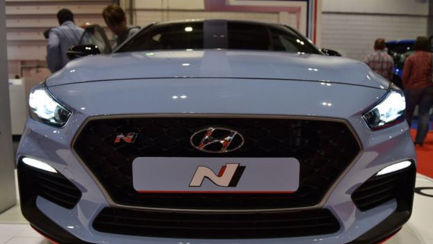 Auto de Hyundai.
