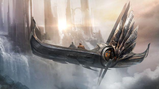 Atomhawk Design's Asgardian Skiff craft