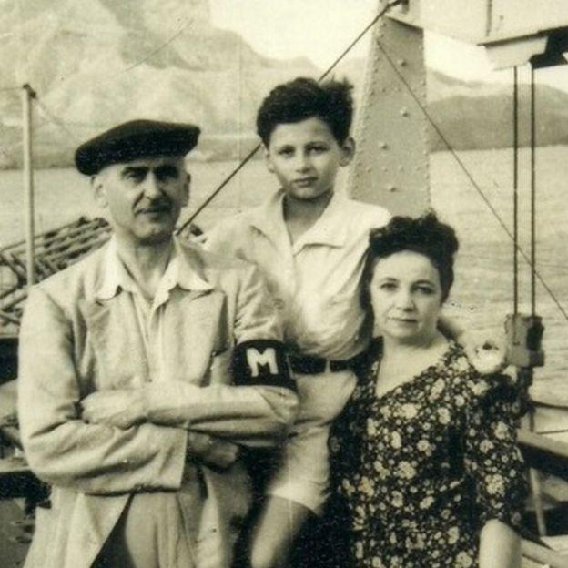Igor Chnee Anatóli e família