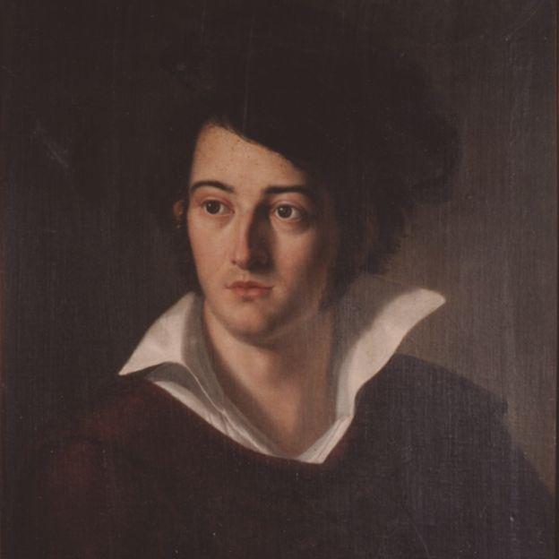 Óleo sobre tela de von Martius feita por Joseph Anton Rhomberg