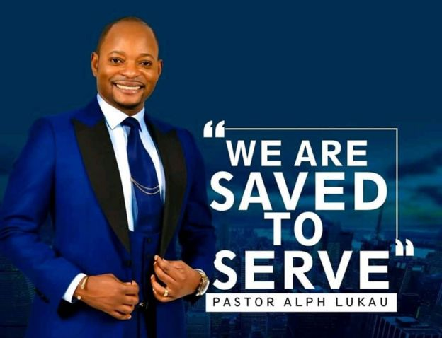 La foto de perfil en Facebook del pastor Lukau, de la iglesia Alleluia Ministries International de Sudáfrica.