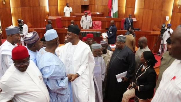 Senate Don Adjourn Sitting To Honour Di Death Of One Member From Kwara