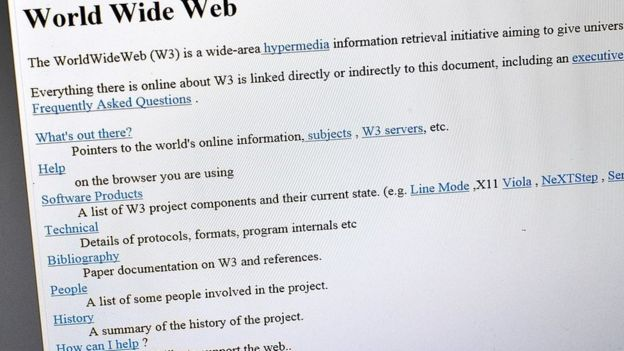 Первый в мире сайт