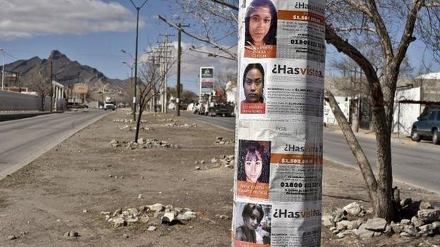 Carteles en Ciudad Juárez