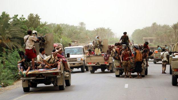 معركة الحديدة: قوات تابعة للتحالف بقيادة السعودية