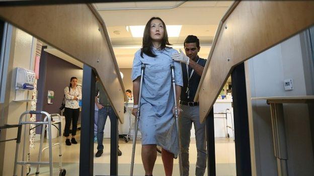 Un paciente en Toronto