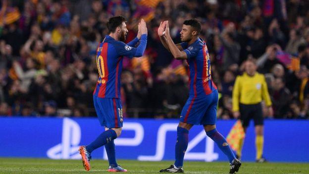 Barcelona ta kafa tarihin da ba a taba yi ba - BBC News Hausa