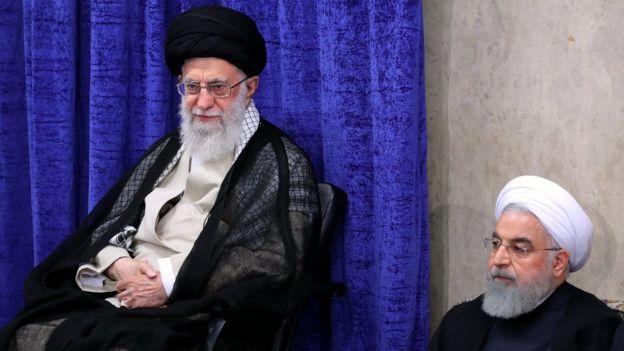 رهبر و رئیس جمهور ایران