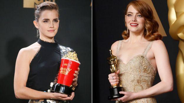 Emma Watson y Emma Stone