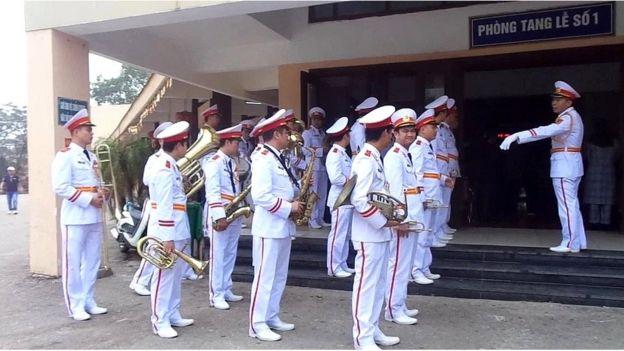 Đám tang Tướng Vĩnh