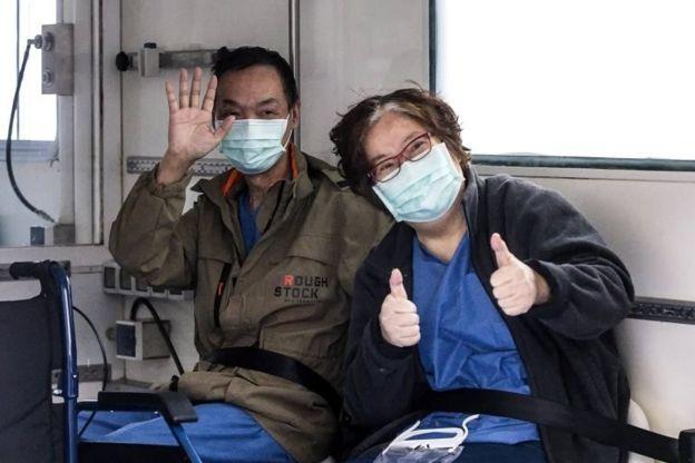 İtalya'da ilk olarak koronavirüs görülen ve hastaneden taburcu edilen Çinli turist çift