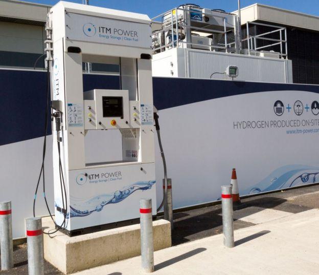 Una bomba de energía de hidrógeno