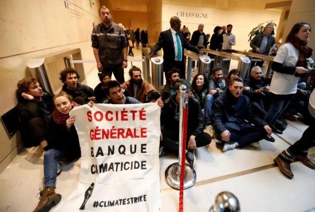 iklim değişikliğine karşı öğrenci protesosu, Fransa