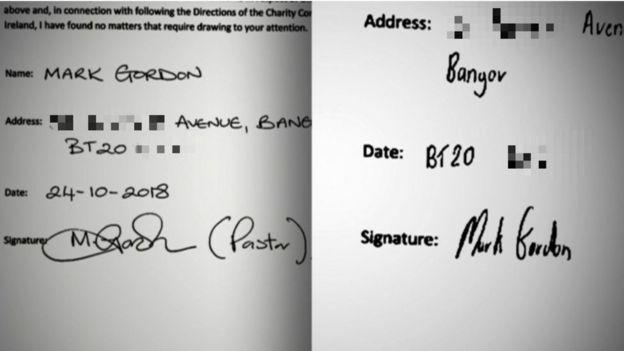 analyze handwriting signatures