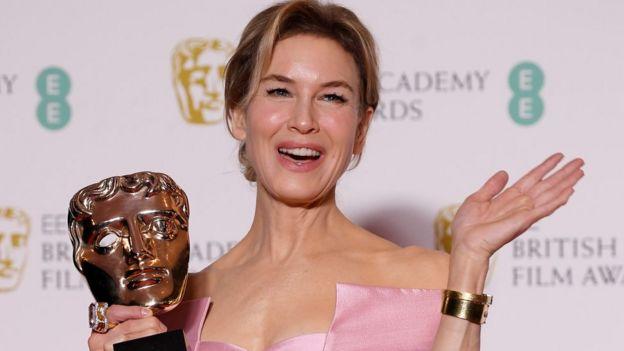 Renee Zellweger won a Bafta for Judy last weekend