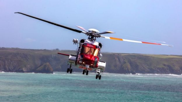 Baby born on coastguard helicopter 1,400ft above Cornwall