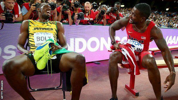 Usain Bolt e Justin Gatlin