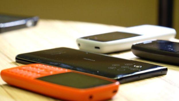 smartphones de Nokia