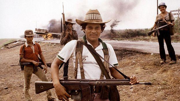 Gerilyawan El Salvador tahun 1983