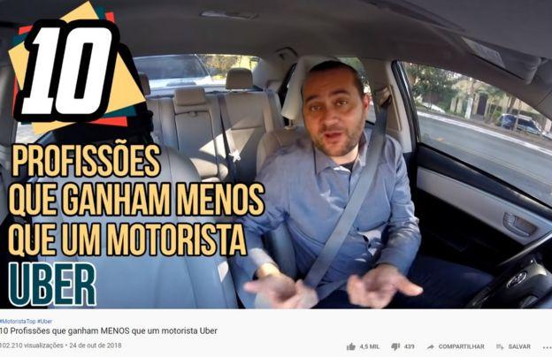 Vídeo do canal de Marlon Luz