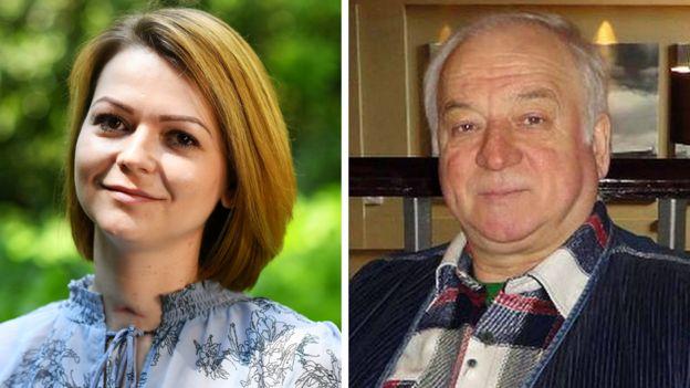 Julija i Sergej Skripalj