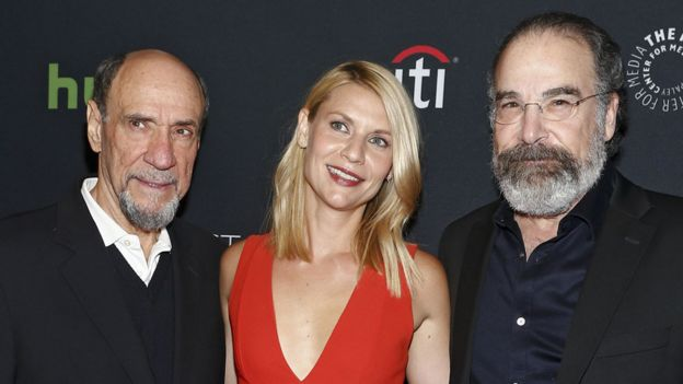 F Murray Abraham with Claire Danes and Mandy Patinkin