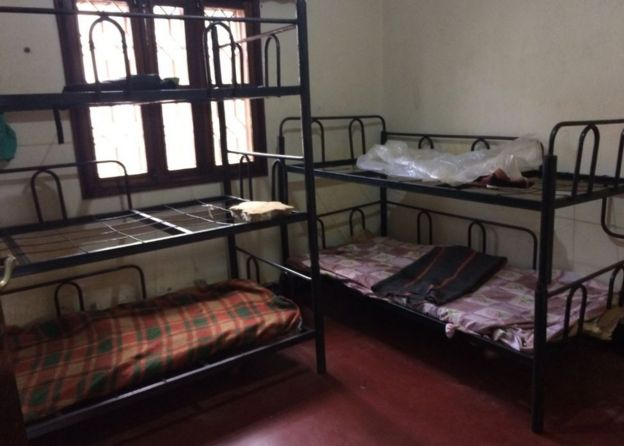 Beds in the orphanage