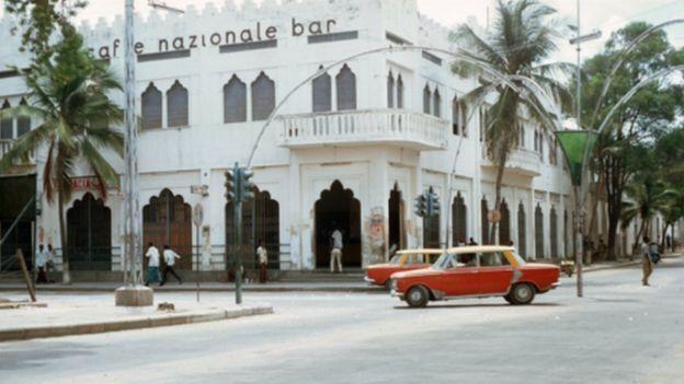 A bar in Mogadishu