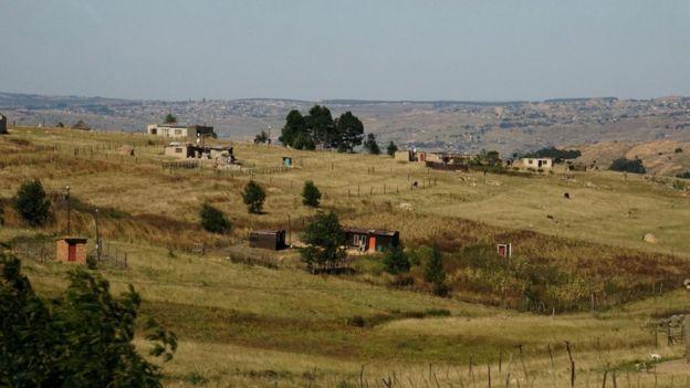 Paisaje en Suazilandia.