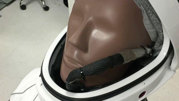 Ripley in Dragon capsule