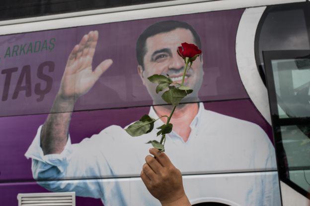 صلاح الدین دمیرتاش رهبر زندانی حزب کُردی دموکراتیک خلقها